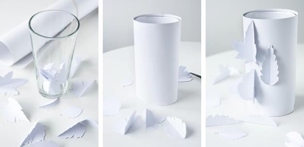 How To: Papiervase zum Überstülpen
