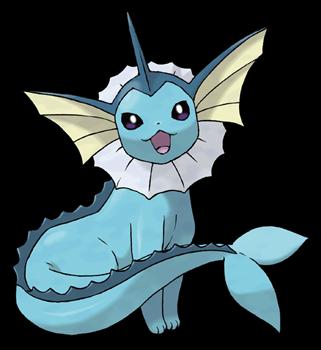 Pokemon Eevee Water Evolution