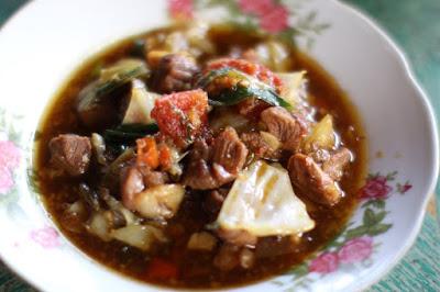 Resep Tong Seng Kelinci yang sedap