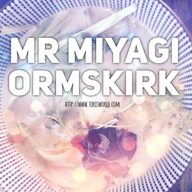 Like pan-Asian cuisine? Like tapas? You'll love Mister Miyagi in Ormskirk. #foodbloggers #lbloggers