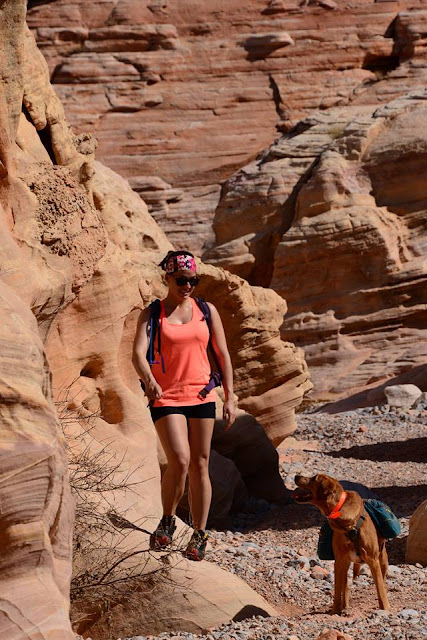 Backpacking Gear List, Valley of Fire State Park