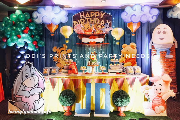 Odi's Prints and party needs - die cut invitations - Bacolod party needs