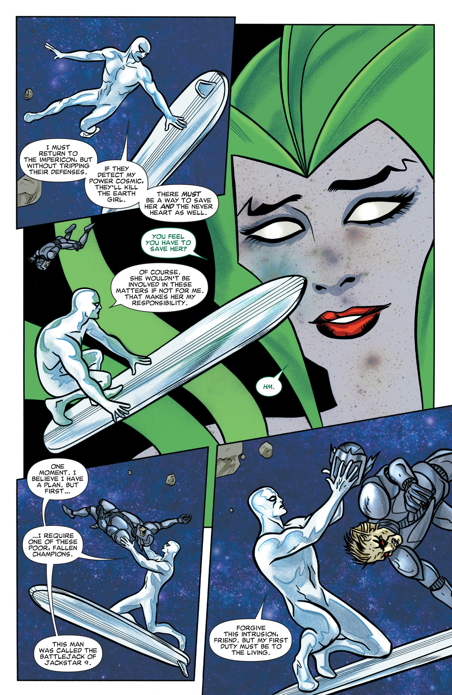Read online Silver Surfer (2014) comic -  Issue #2 - 16