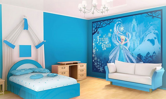 Dormitorios tem ticos de frozen para ni as for Cuartos decoracion de ninas sencillos