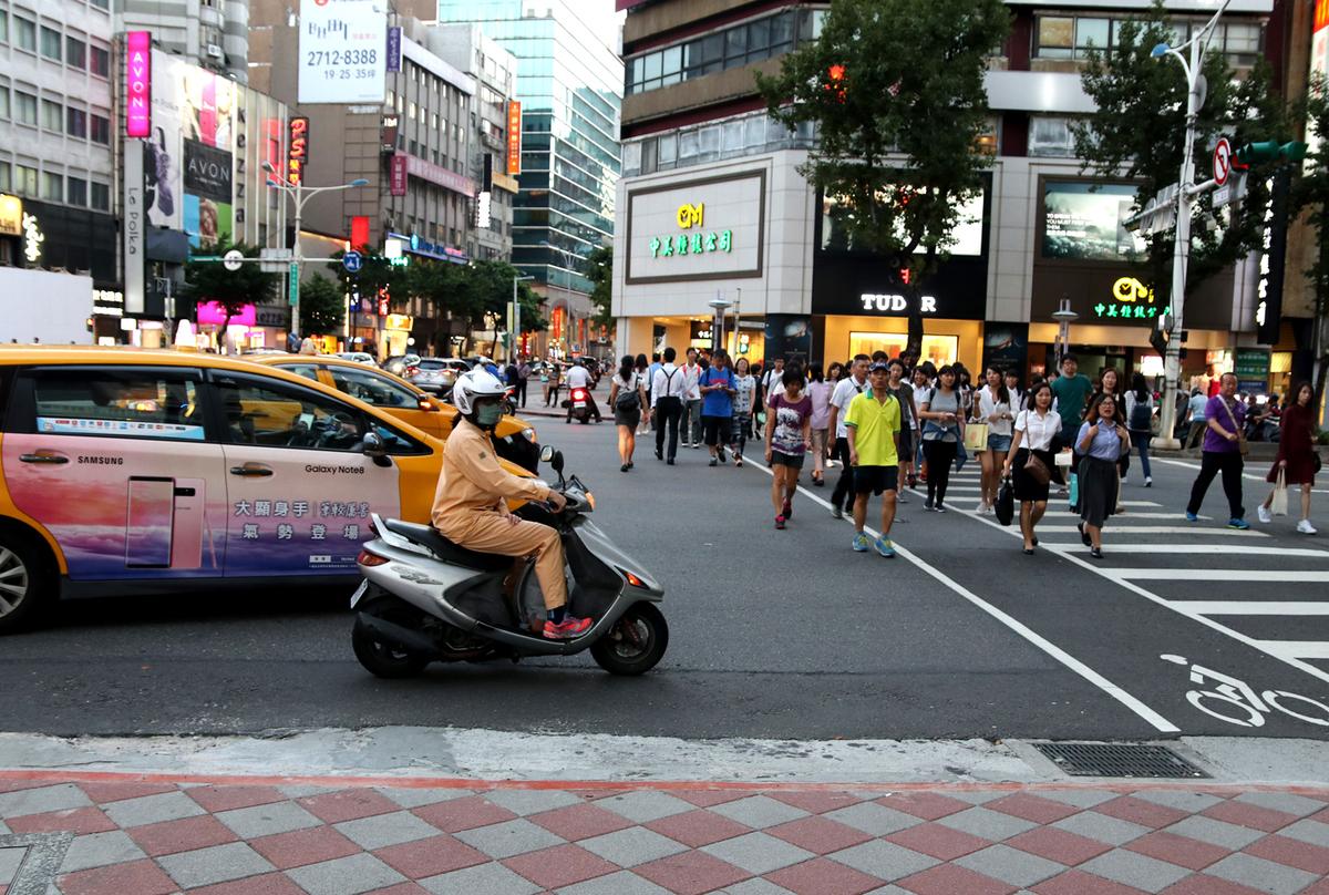 Vì sao giao thông tại Đài Loan có nhiều xe máy nhưng ít tắc đường ?
