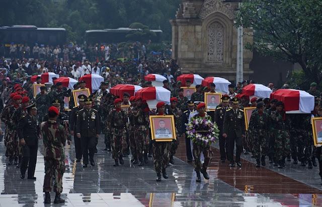 FANTASTIS...! Inilah Jumlah Santunan DEATH GRATUITIES Untuk Tentara Dan Aparat Yang Gugur Saat Bertugas.