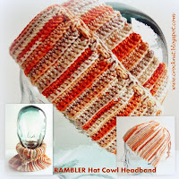 how to crochet, hat, cowl, headband, free crochet patterns,