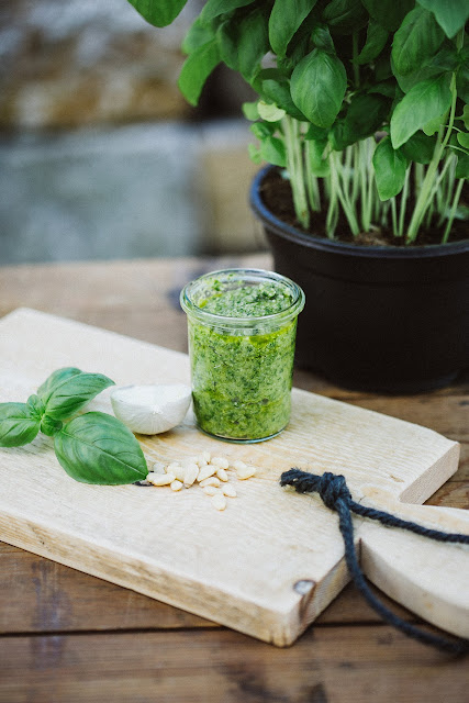 Grünes Pesto selbstgemacht, Pomponetti