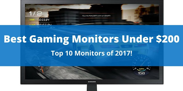 Best Top 10 Gaming monitor(Screen) avaliable in 2017