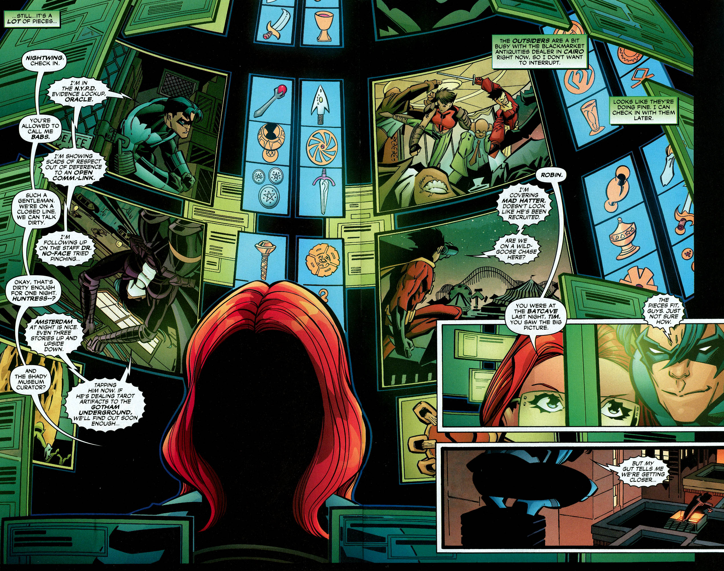 Read online Trinity (2008) comic -  Issue #9 - 22