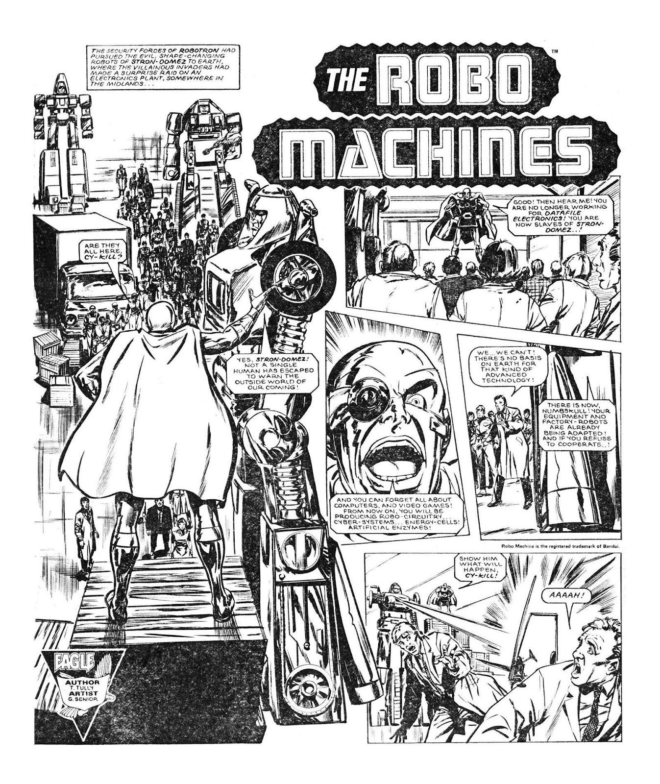 Read online Robo Machines comic -  Issue # TPB - 48