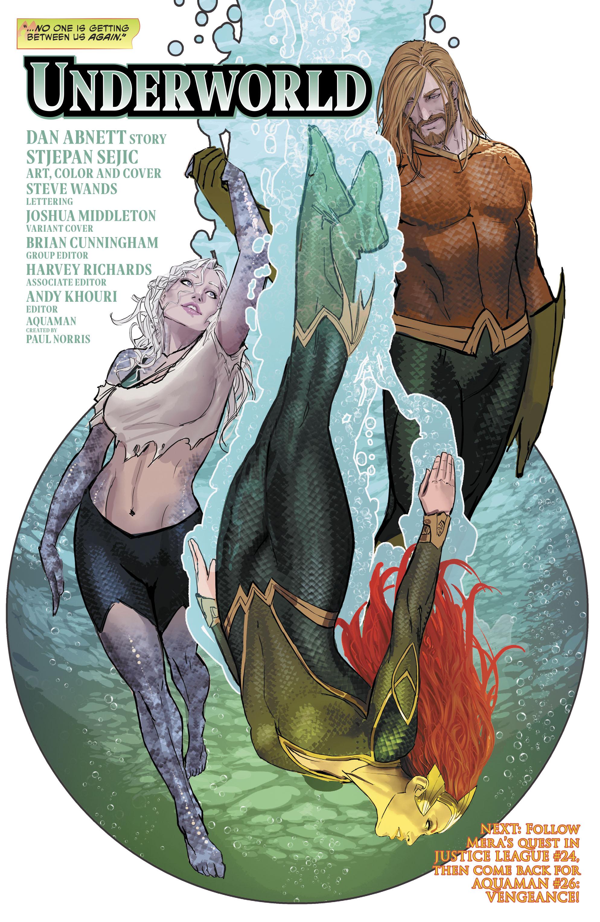 Read online Aquaman (2016) comic -  Issue #25 - 31