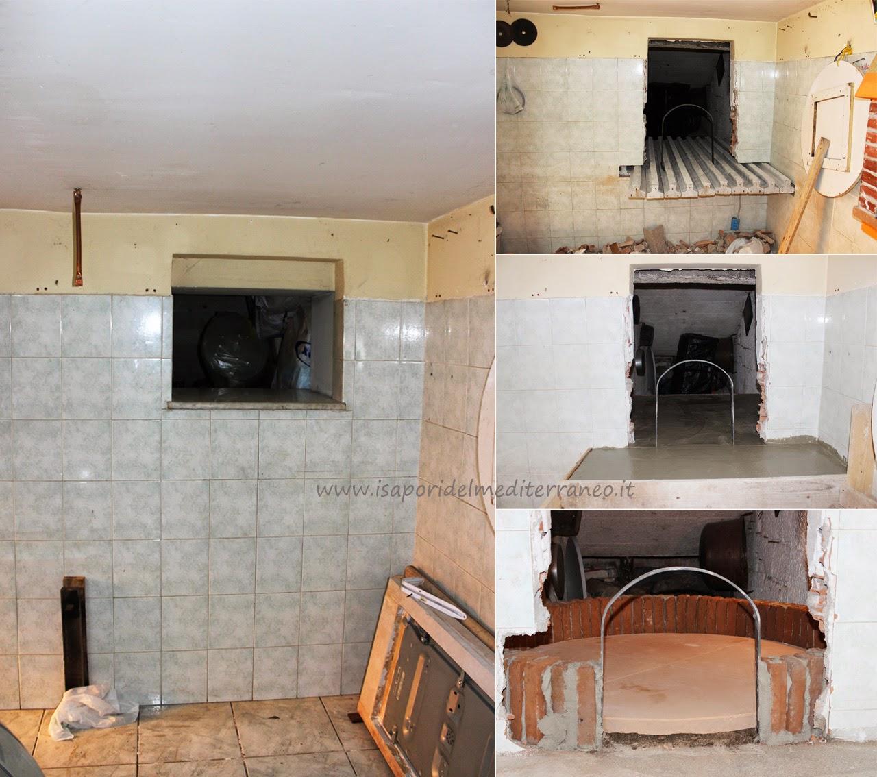Come costruire il forno a legna tradizionale - Costruire cucina muratura ...