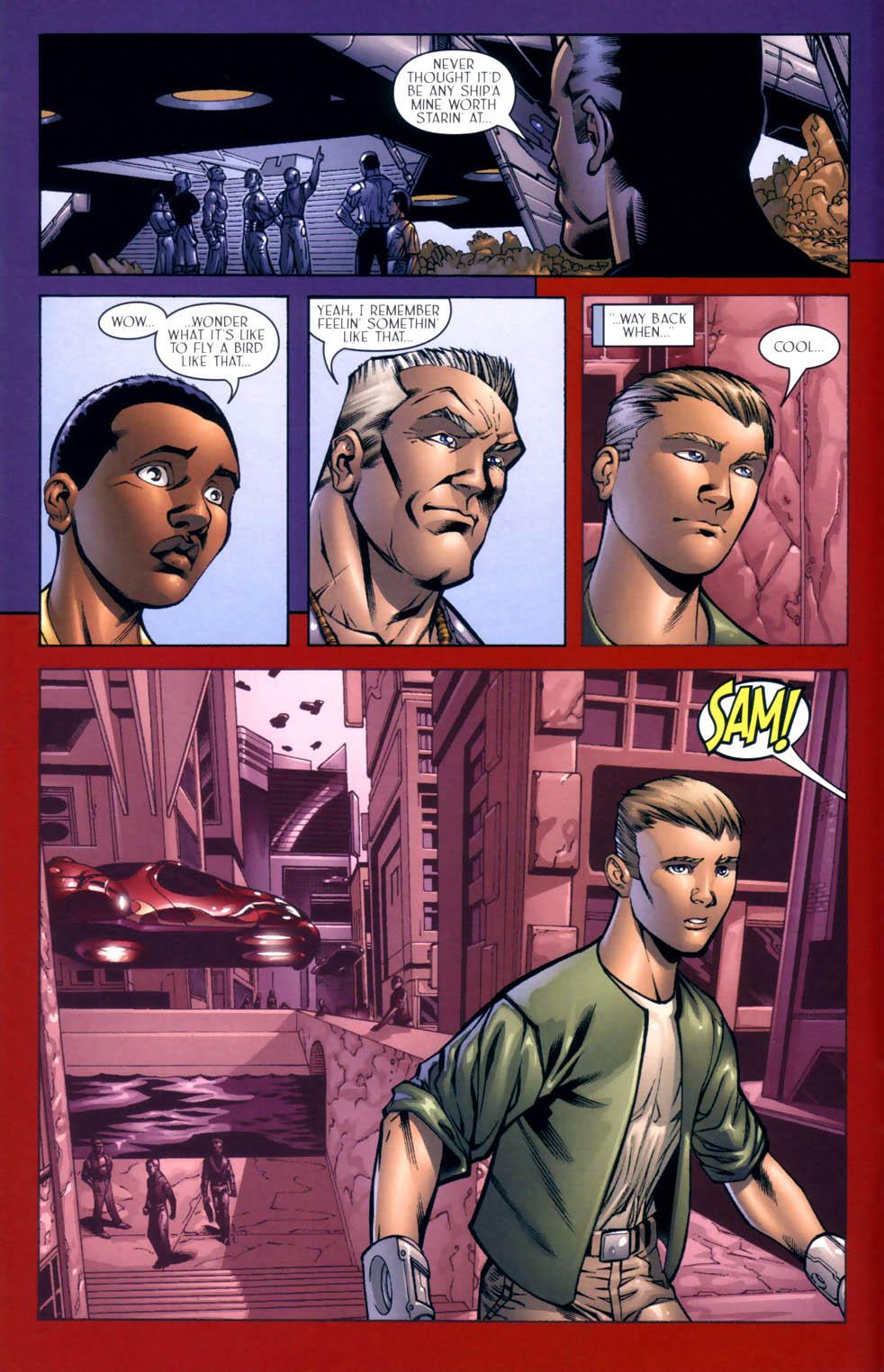 Read online Sigil (2000) comic -  Issue #9 - 12