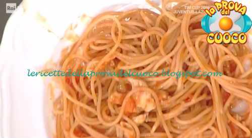 Spaghetti con pollo e verdure ricetta Serato da Prova del Cuoco
