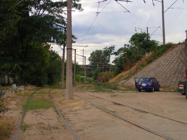 Początek linii tramwajowej nr 20 (Odessa)