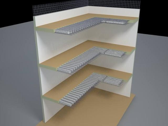 Liên kết tường và Sàn Panel 3d