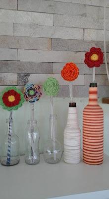 arranjo flores de crochê passo a passo