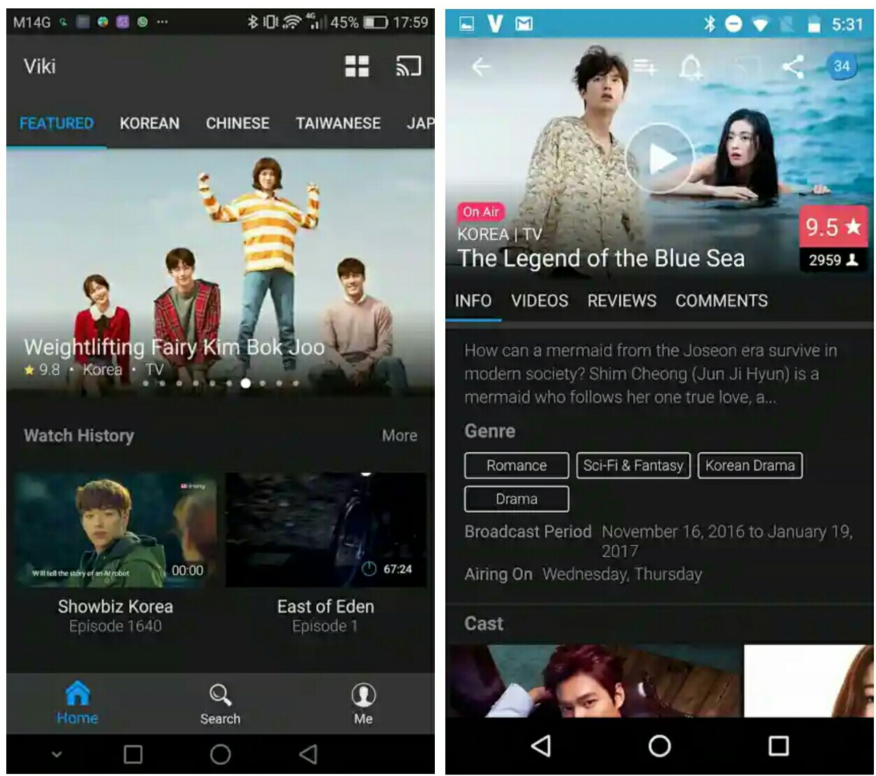 Korean drama apps for android - What are the 50 shades of grey books
