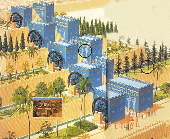 El Arte Como Arte Los Jardines Colgantes De Babilonia