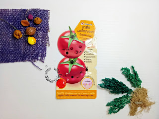review smooto tomato collagen white and smooth mask
