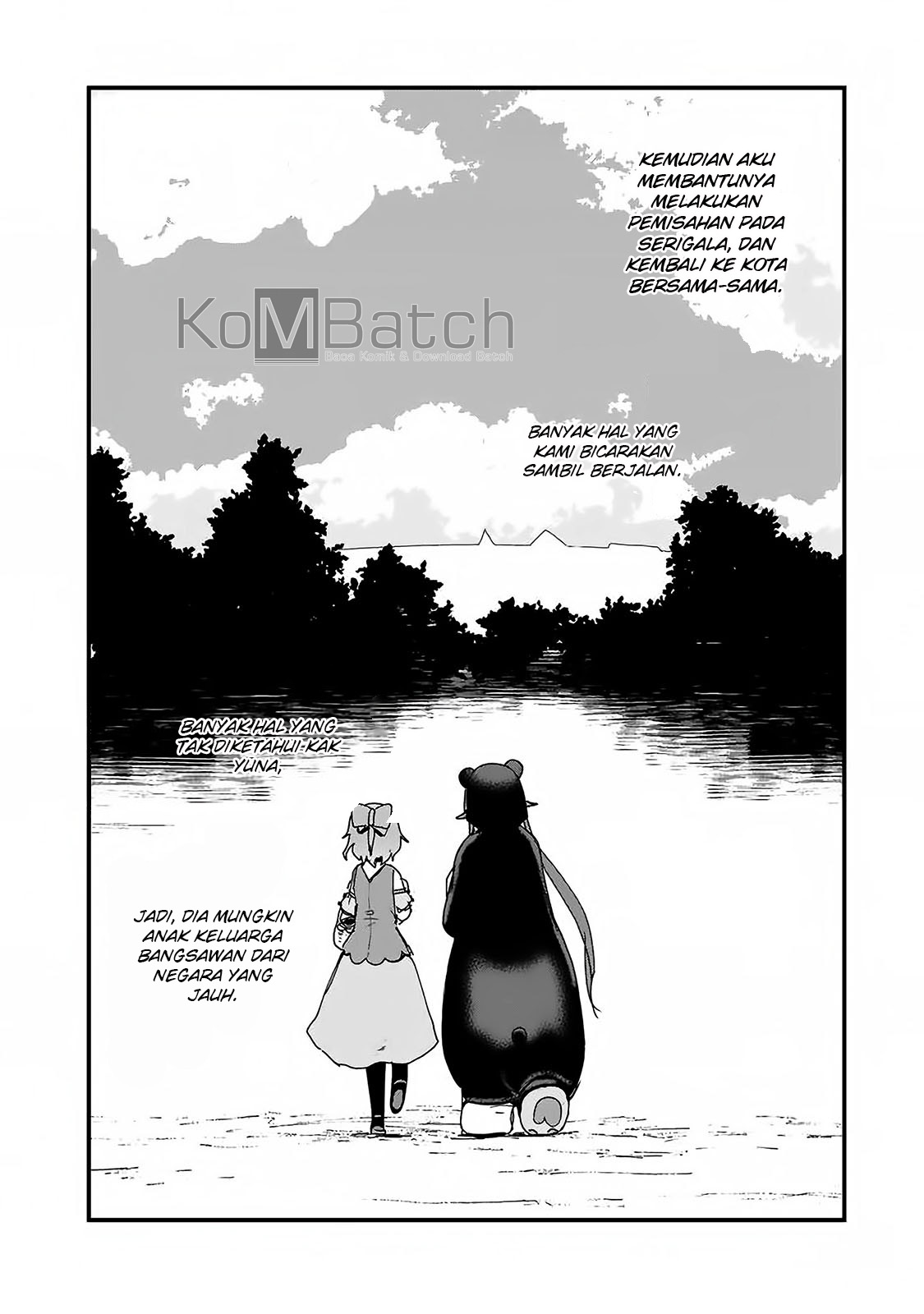 Kuma Kuma Kuma Bear Chapter 10 Bahasa Indonesia