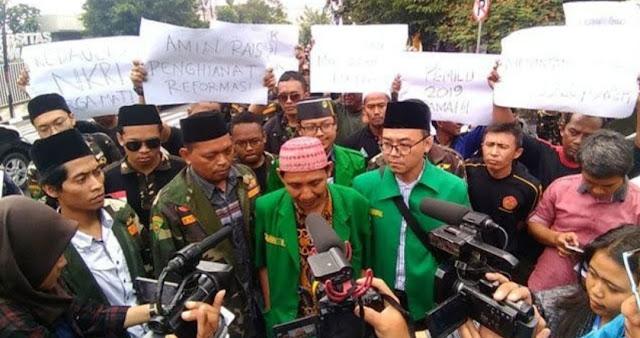 Ansor dan Banser Semarang Siap Hadang People Power Amien Rais