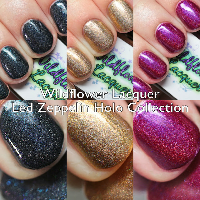 Wildflower Lacquer Led Zeppelin Holo Collection