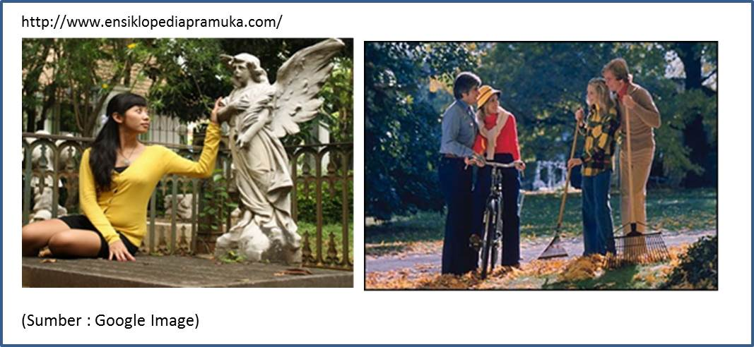 Ensiklopedia Pramuka Fotografi Videografi Pramuka Teknik Pembingkaian Gambar Framing