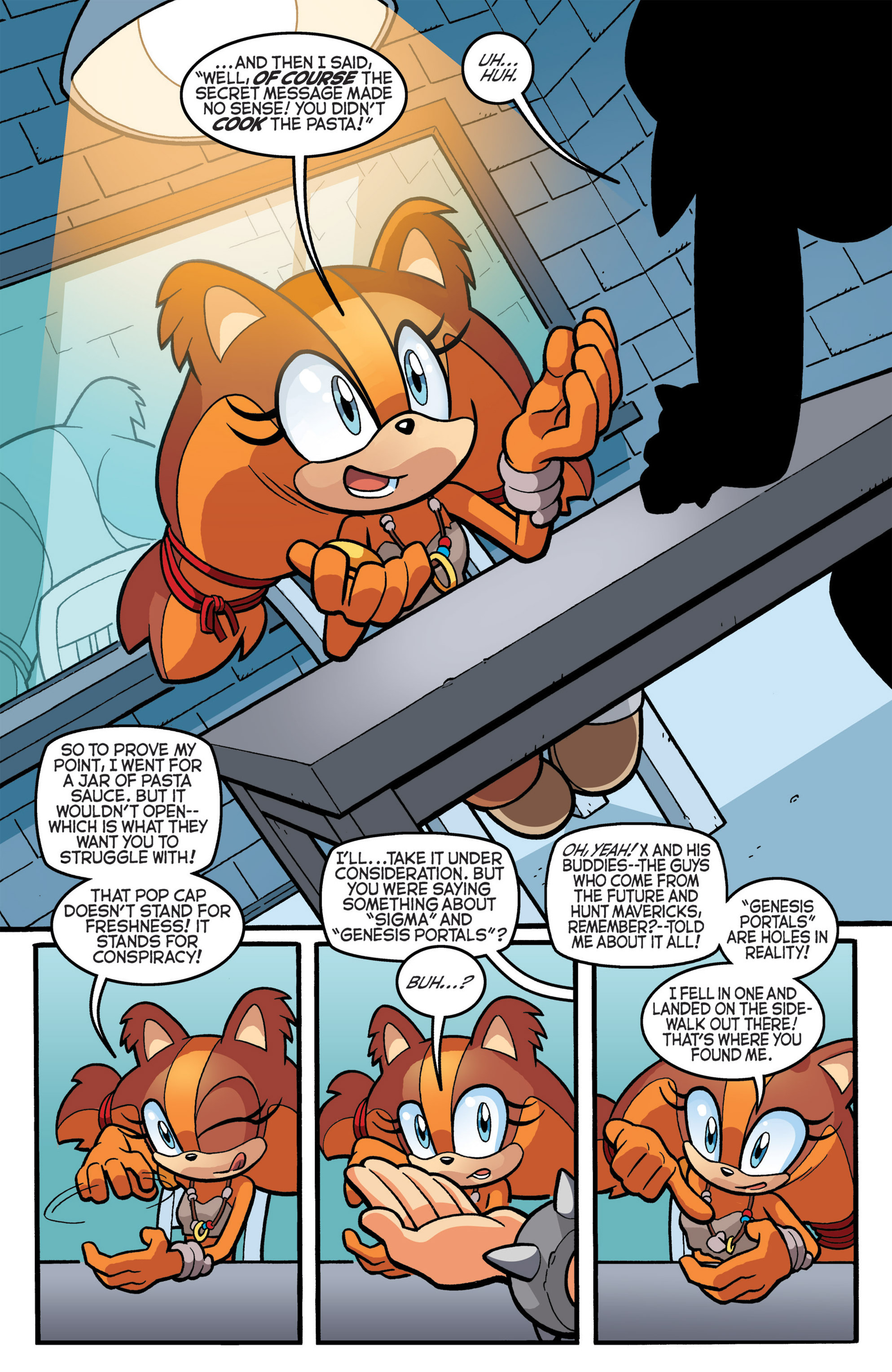 Read online Sonic The Hedgehog comic -  Issue #274 - 11