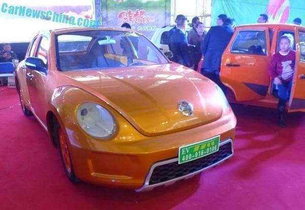 El Volkswagen Beetle y el BMW i3 ya tienen su clon chino