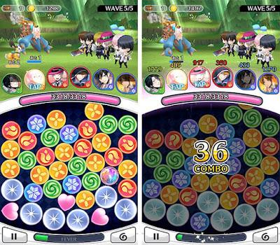 『マジカルデイズ』ゲーム画面