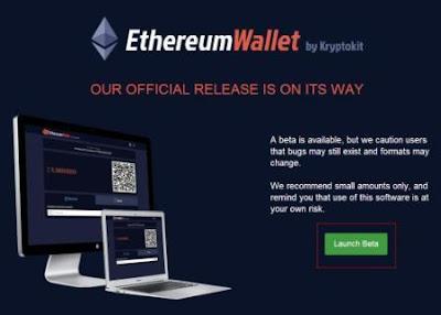 Создать кошелек для криптовалюты эфириума