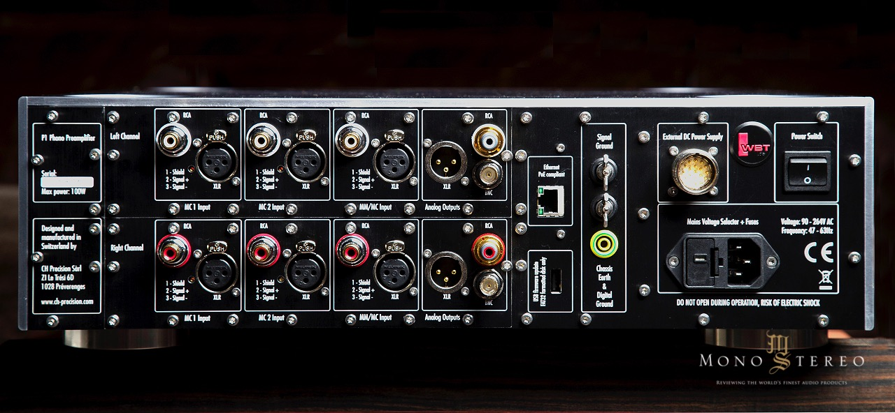 Mono and Stereo High-End Audio Magazine: CH Precision 4 Chassis P1