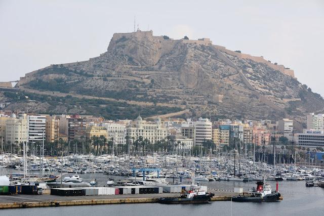 Alicante sailing