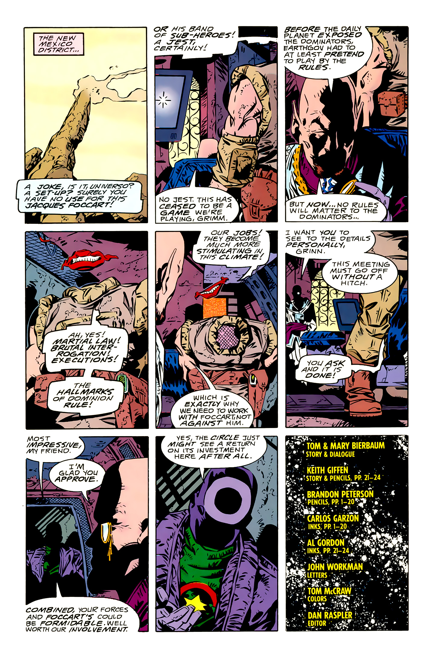 Legion of Super-Heroes (1989) 16 Page 24