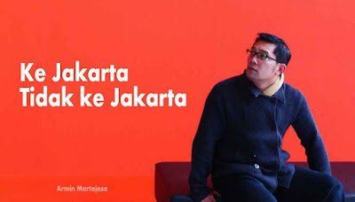 Pernyataan Ridwan Kamil Ke Jakarta Tidak ke Jakarta