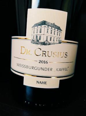 Traiser Weißburgunder Kaffel trocken Weingut Crusius
