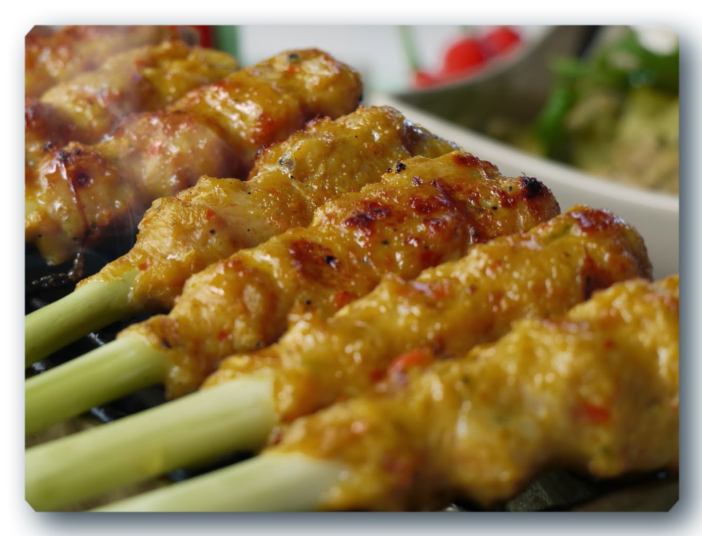 Resep Sate Lilit Khas Bali | Resep Masakan Dunia
