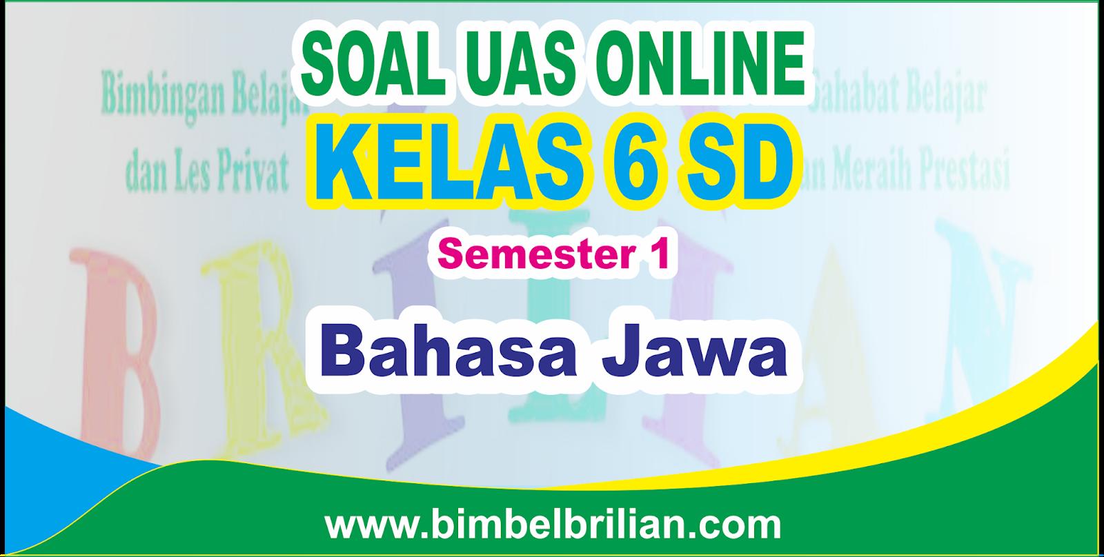 Soal Bahasa Jawa Kelas 6 Ujian Sekolah Casiniself S Diary