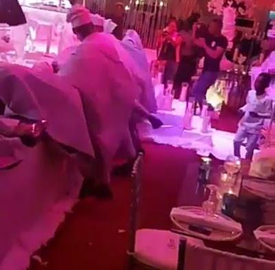 One-Corner-Dance-Takes-Over-Nigerian-Celebrity's-wedding |-Watch-Video-holykey1.com