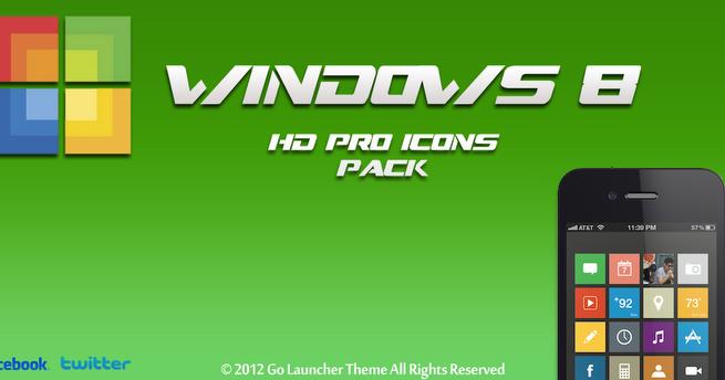 Windows 8 HD Theme v3.2 Android Apk ~ TechWeen
