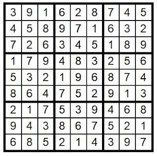 Answe rkey Suduko Puzzle #28 @BionicBasil®  Brain Training with Cats