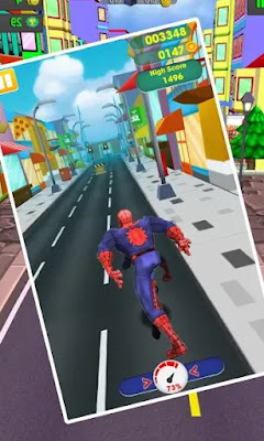 Subway Spider Game on Google play now