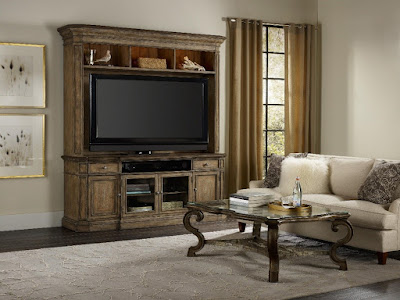 Hearth TV Console Set