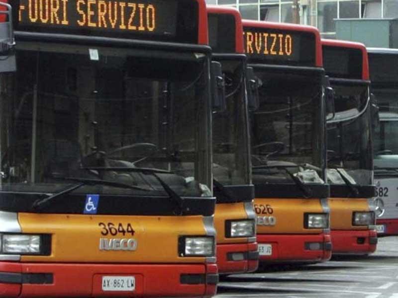 Huelga de 24 horas del servicio público de transporte local en Italia