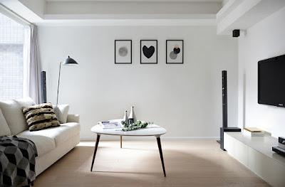 الوان حوائط الشقق، دهانات الحوائط العصرية، شقق ومنازل بدهان ابيض، اللون الابيض في مساحات الصغيرة، الوان حوائط جديدة