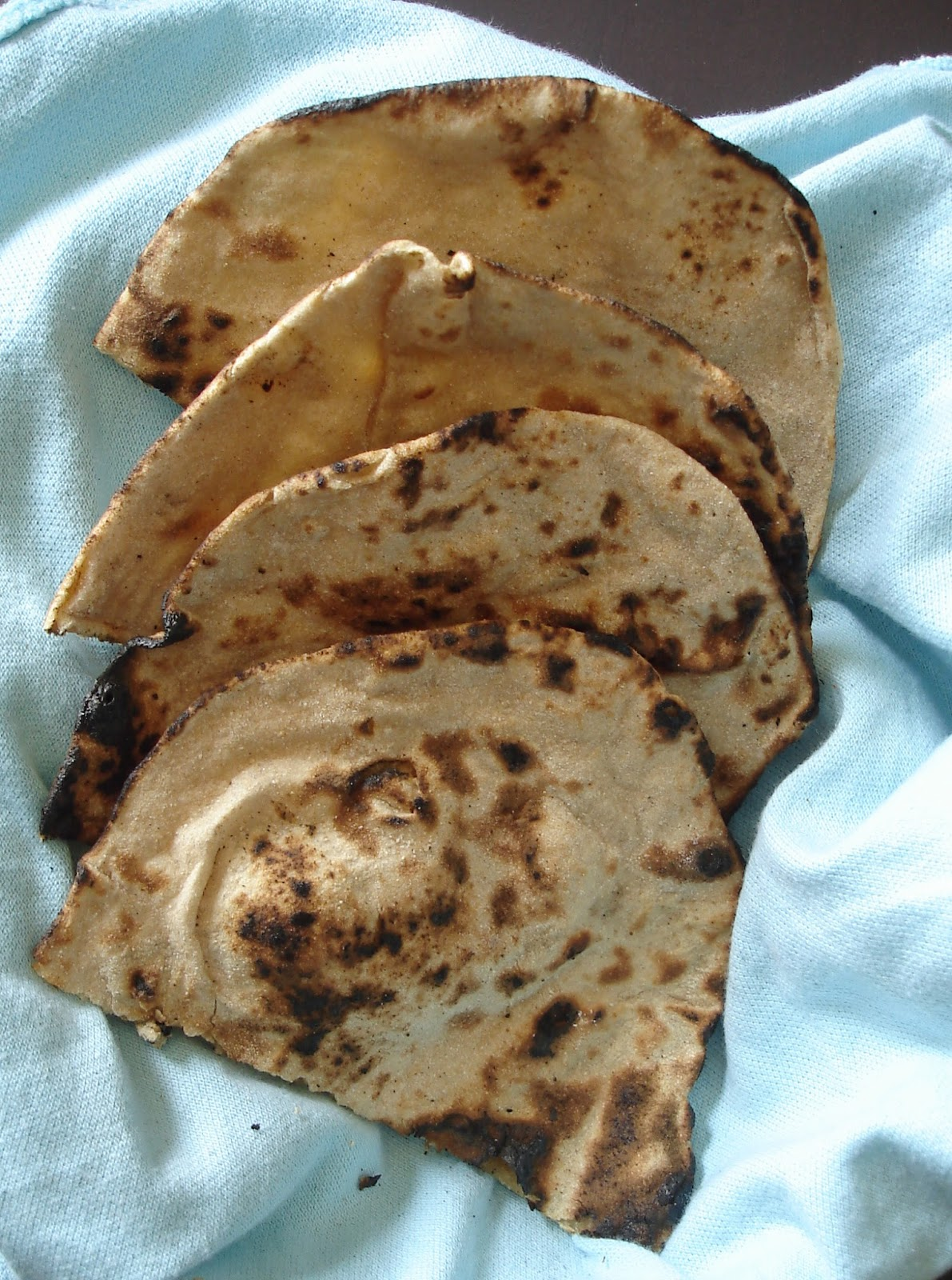 Tandoori Roti at home