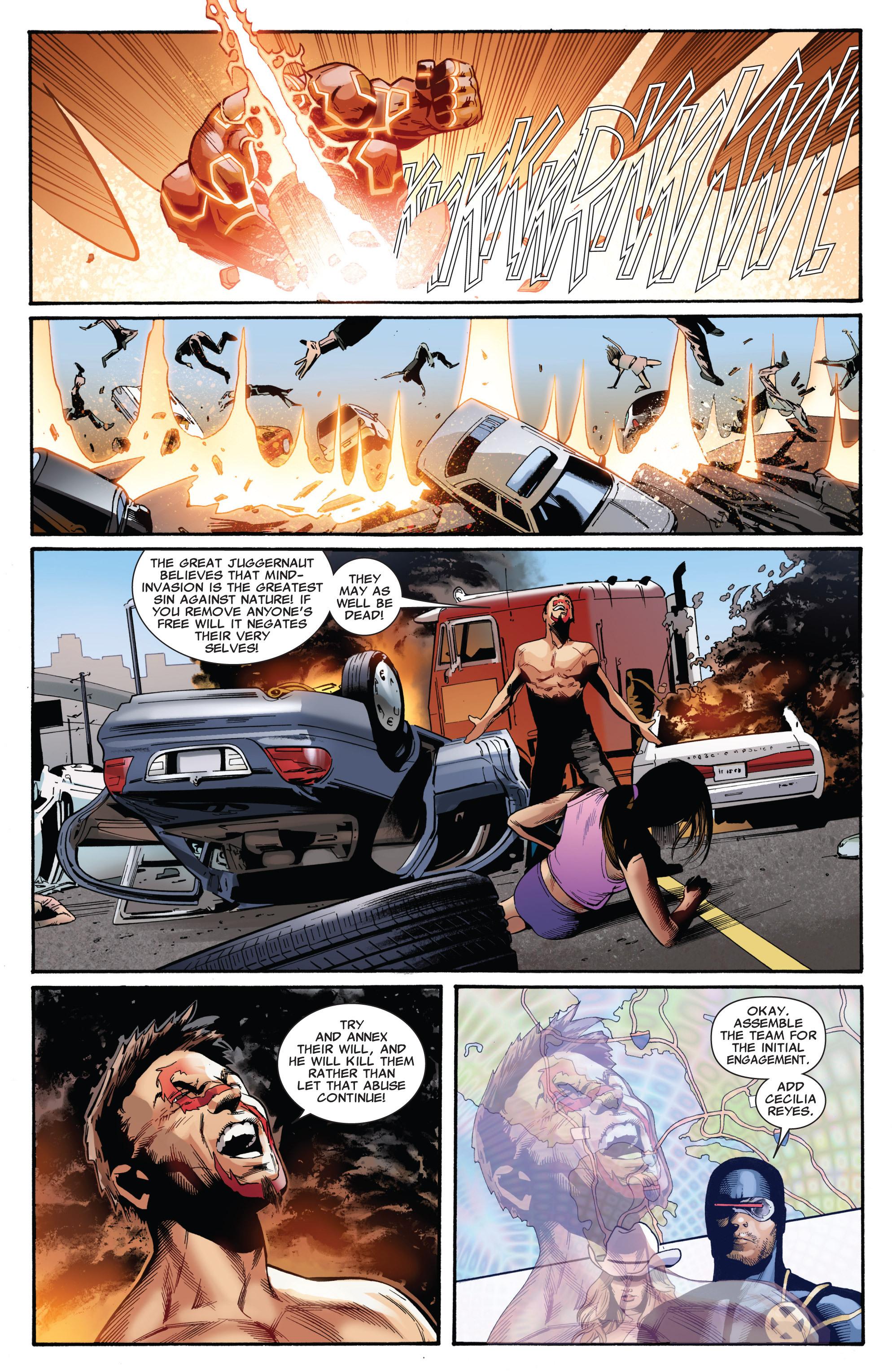 Read online Uncanny X-Men (1963) comic -  Issue #541 - 7