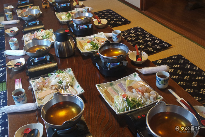 Notre table au restaurant